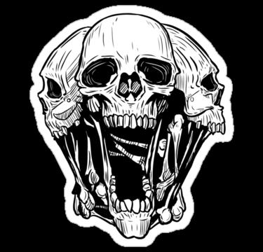 2090 Triple Skull