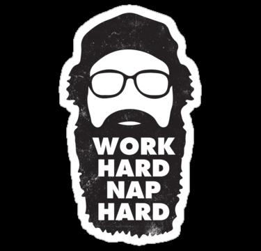 2109 Work Hard Nap Hard