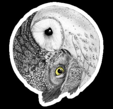 2110 Yin Yang Owls