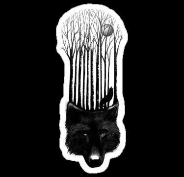 2125 BLACK WOLF BARCODE
