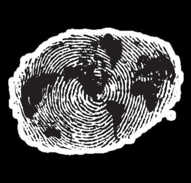 2162 Globe Finger Print
