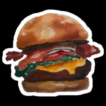 2300 Adorable Hamburger