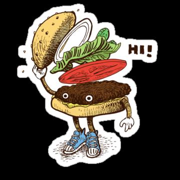2306 Burger Greeting