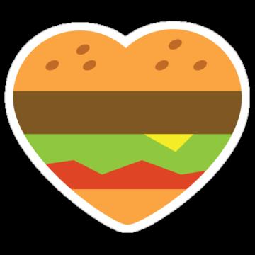 2325 I heart burgers