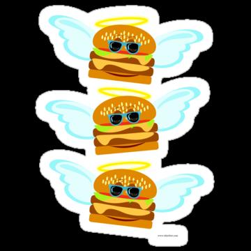2350 Three Flying Cheeseburgers