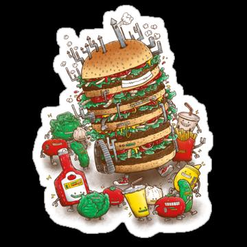 2351 Uber BurgerBot