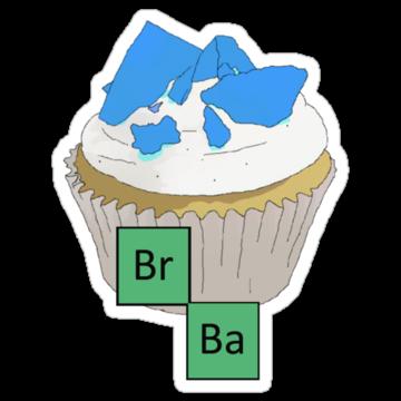 2356 Baking Bad Cupcake
