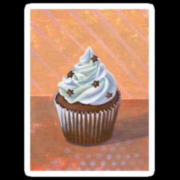 2361 Chocolate Stars Cupcake
