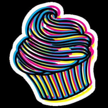 2364 CMYK Cupcake