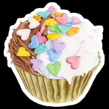 2370 Cupcake Hearts