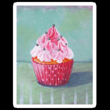 2387 Pink Mountain Cupcake