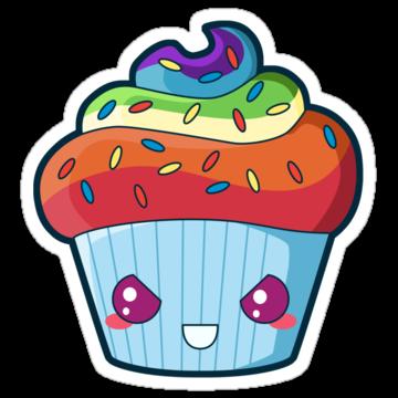 2392 Rainbow Dash Cupcake