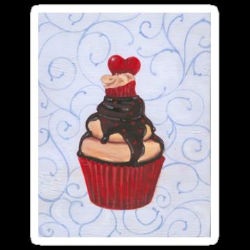 2401 Valentine's Day Cupcake