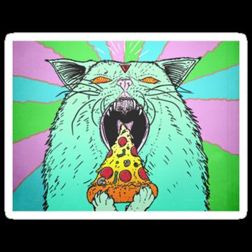 2442 Satanic Pizza Cat