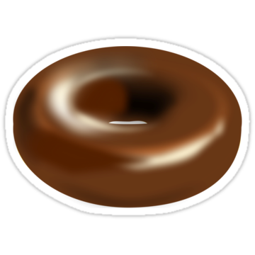 2457 Chocolate Glazed Donut