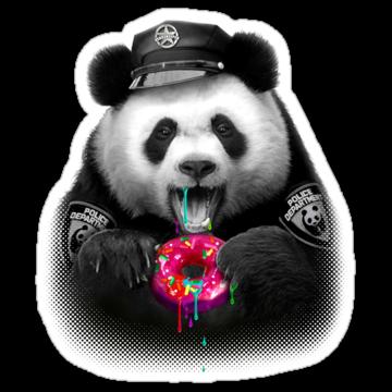 2470 Donut Panda Cop