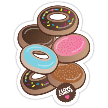 2478 I Luv Donuts