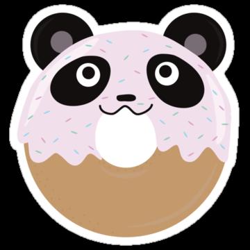 2483 Panda Donut