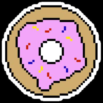 2485 Pixel Donut