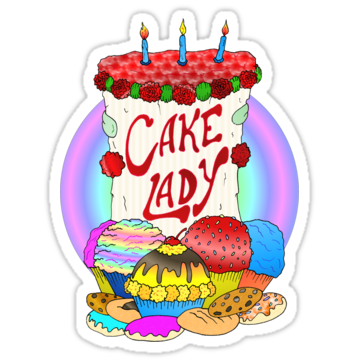 2496 Cake Lady