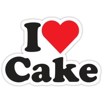 2511 I Heart Love Cake
