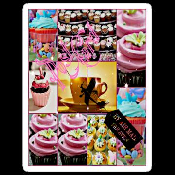 2524 Post Cake Card