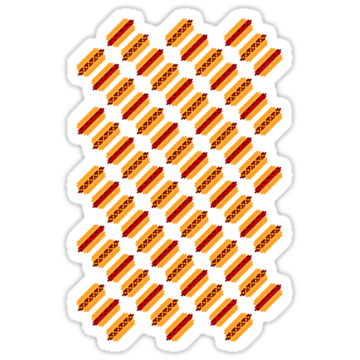 2568 Pixel Hot Dogs