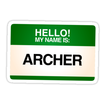 2592 NAMETAG TEES - ARCHER