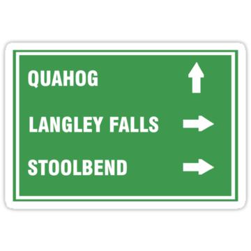 2627 Quahog, Langley Falls and Stoolbend
