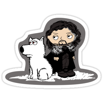 2630 Stewie Griffin is Jon Snow game of thrones