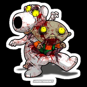 2634 Zombie Stewie