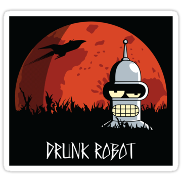 2643 Drunk Robot