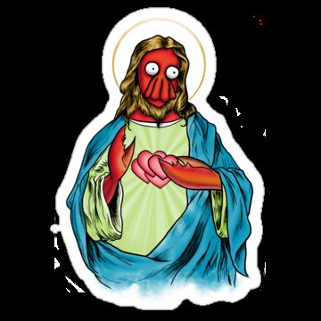 2675 Zoidberg Jesus