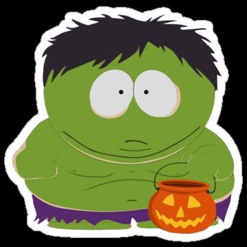2684 Cartman Halloween Hulk