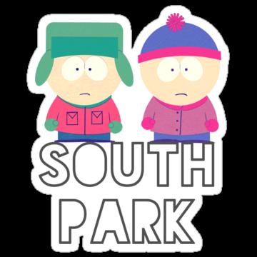 2711 South Park Kyle & Stan