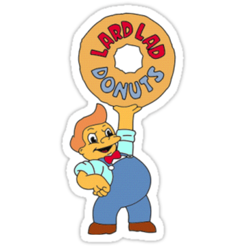 2744 The simpsons Donuts