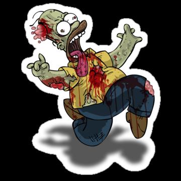 4941 Zombie Homer