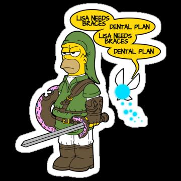 4946 The legend of Zel- er... D'OH!
