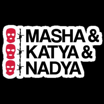 4986 MASHA & KATYA & NADYA PUSSY RIOT