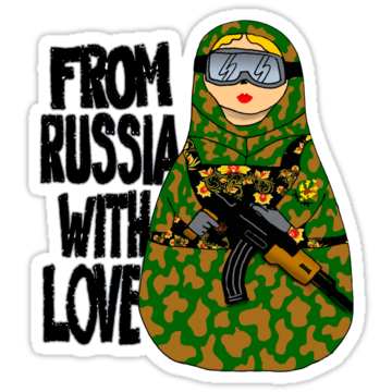 4999 From Russia With Love NESTING DOLL