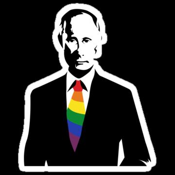 5016 Putin LGBT Supportive Tie