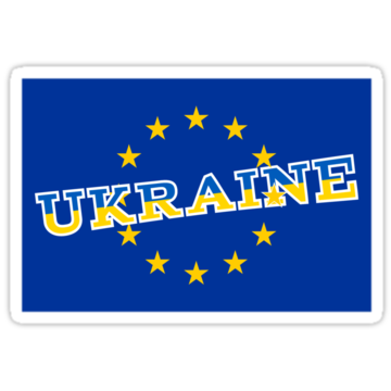 5030 Ukraine and European Union flag