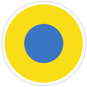 5045 Ukrainian Air Force Roundel