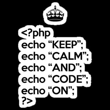 2821 Keep Calm And Code On