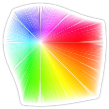 2834 Vector Field Colour Wheel