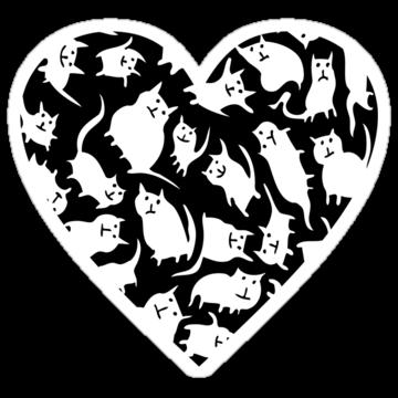 2852 Crazy Cat Heart