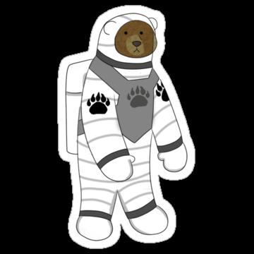 2888 Astronaut Bear
