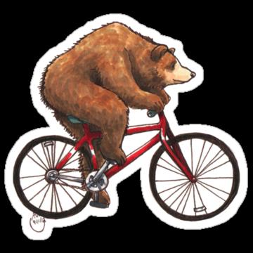 2893 Bear on a Bike