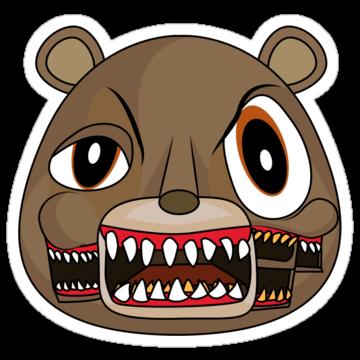 2901 Cubist Dropout Bear