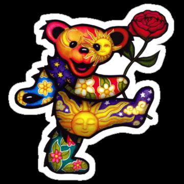 2904 Grateful Dead Bear